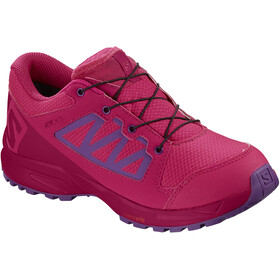 Salomon XA Elevate CSWP Shoes Kids virtual pink/cerise./purple magic